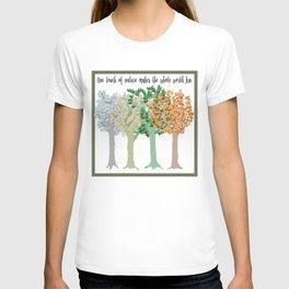 Four Season Trees T-shirt