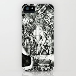 Concentric Sub-Levels Of Reality iPhone Case