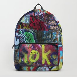 Graffiti in the wild Backpack