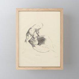 Male Torso, 1916 by George Bellows Framed Mini Art Print