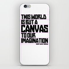 This World... iPhone & iPod Skin