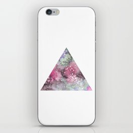 Watercolor Galaxy Triangle iPhone Skin