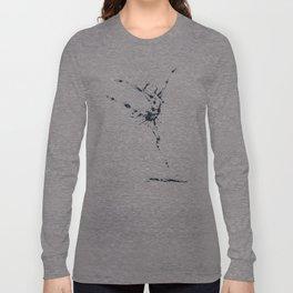 Splaaash Series - Flying Dancer Ink Long Sleeve T-shirt