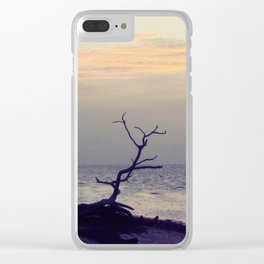 Sunset on Coco Plum Beach Clear iPhone Case