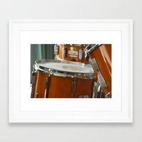 drums Framed Art Prints featuring Drums by TilenHrovatic