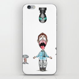 Droppin' iPhone Skin