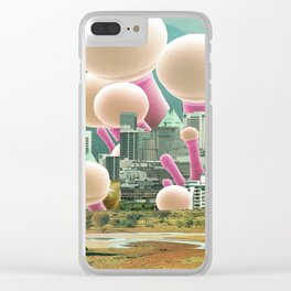 atmosphere 53 · Dot City Clear iPhone Case