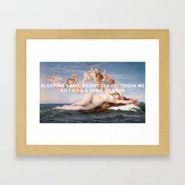 Birth of Julia Framed Art Print