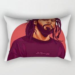 J cole Art Rectangular Pillow