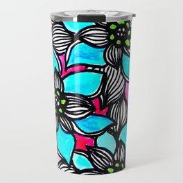 Flower Power 3 Travel Mug