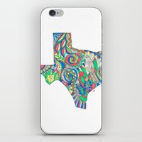 texas iPhone & iPod Skins featuring Texas by Laura Maxwell