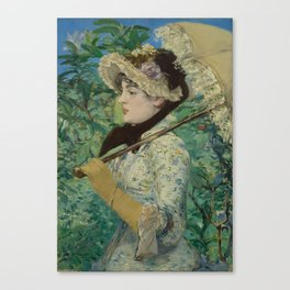Jeanne (Spring) by Édouard Manet (1881) Canvas Print