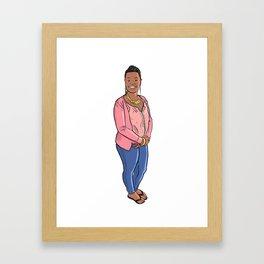 Jaime! Framed Art Print