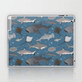 Sharks and Rays Laptop & iPad Skin