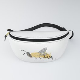 Abstract Bee Fanny Pack