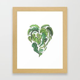 Hard Love II Framed Art Print