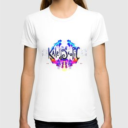 kaleidoscopic T-shirt