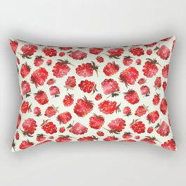 Raspberry vibes Rectangular Pillow