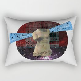 Wonder Wood Dream Mountains - The Demon Cleaner Series · Some Heads Are Gonna Roll · Crop Circle Rectangular Pillow