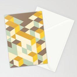 Geometric pattern 070 Stationery Cards