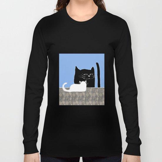 Frisky the Cat Long Sleeve T-shirt