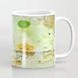 Drifting, Abstract Landscape Art Painting Coffee Mug