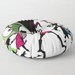 Invader Zim Floor Pillow