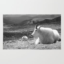 Mountain Goats Rug