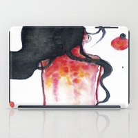 water color iPad Cases featuring Water color by Kohaku+Disorder