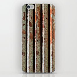 Rusty Radiator Bars iPhone Skin