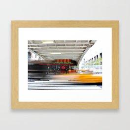 New York Grand Central Cafe Framed Art Print