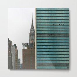 NYC - United Nations Metal Print