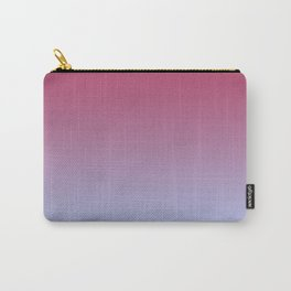 SPARKS OF TIME - Minimal Plain Soft Mood Color Blend Prints Carry-All Pouch