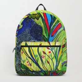 Peacock In Dreamland Backpack