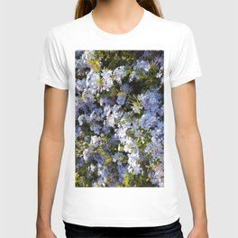 a violet flower in the heart of Athens T-shirt