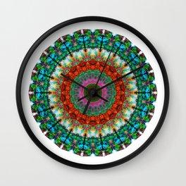 Deep Love - Mandala Art By Sharon Cummings Wall Clock