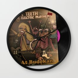 Dr Teeth & The Electric Mayhem Live at Budokan Wall Clock