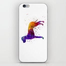 Great Dane 01 in watercolor iPhone Skin