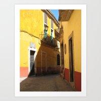 Passage No. 2 in Guanajuato, Mexico (2005) Art Print