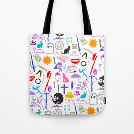 Buffy Symbology, Multi-color / Rainbow / PRIDE! Tote Bag