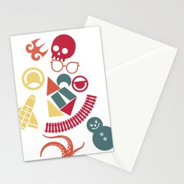 Why does everyone run from me? Stationery Cards