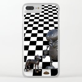 Dangers of Artificial Intelligence Clear iPhone Case
