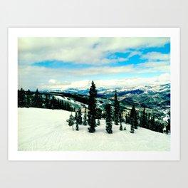 Beaver Creek, CO Art Print