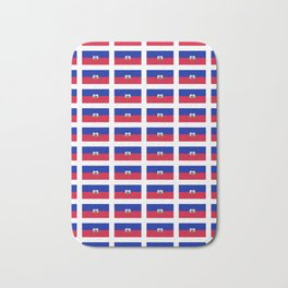Flag of Haiti-haitan,haitien,port aux princes,cap haitien,carrefour,antilles. Bath Mat