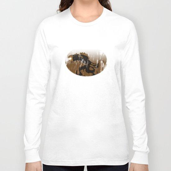oil monster Long Sleeve T-shirt