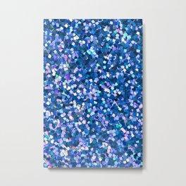 Dazzling Blue Sequences (Color) Metal Print