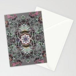 Boujee Boho Magical Floral Mandala Stationery Cards