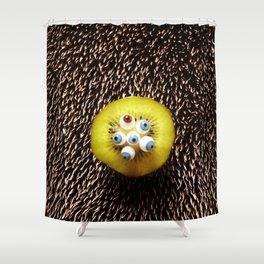 kiwihedgehogeyes Shower Curtain