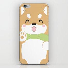 Shiba Inu Block iPhone Skin