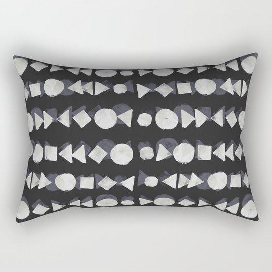 Geometry 4 Rectangular Pillow